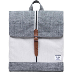 Herschel City Mid-Volume Backpack 14l raven crosshatch/vapor crosshatch/tan
